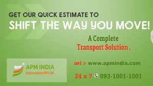 APM India Packers and Movers Ranchi